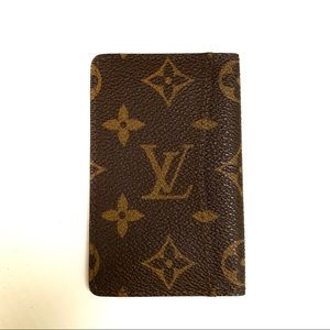LOUIS VUITTON Card Case Wallet